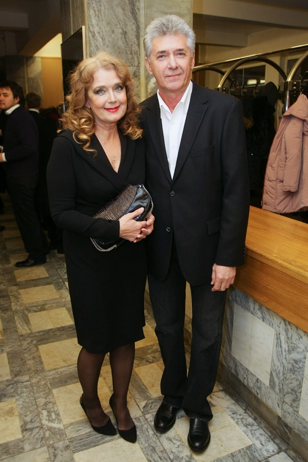 Irina Alferova et Sergey Martynov