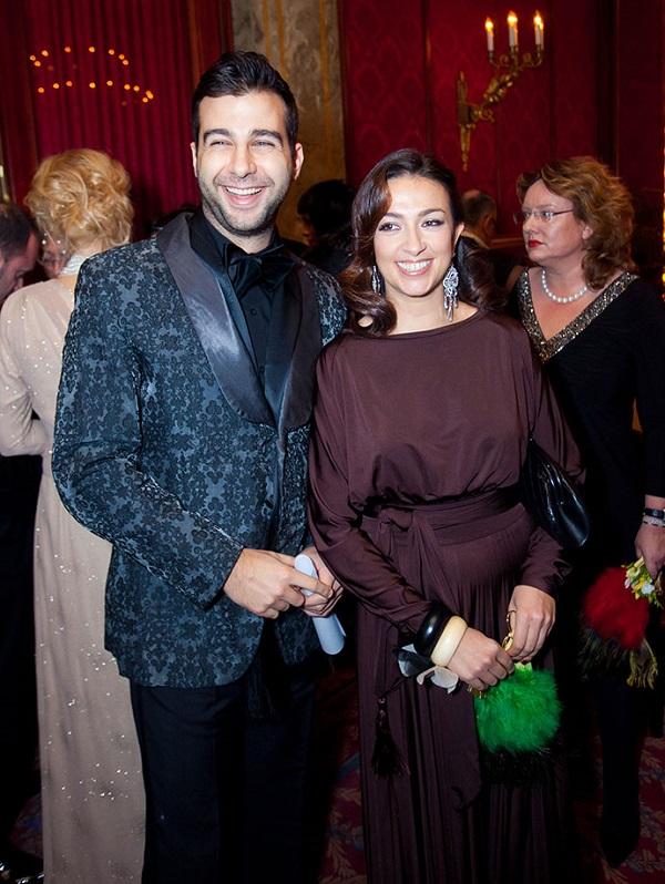 Ivan Urgant et Natalya Kiknadze