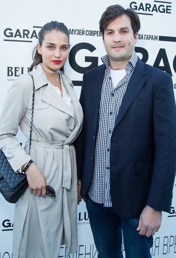 Tamara Lazich et Boris Eltsine Jr.