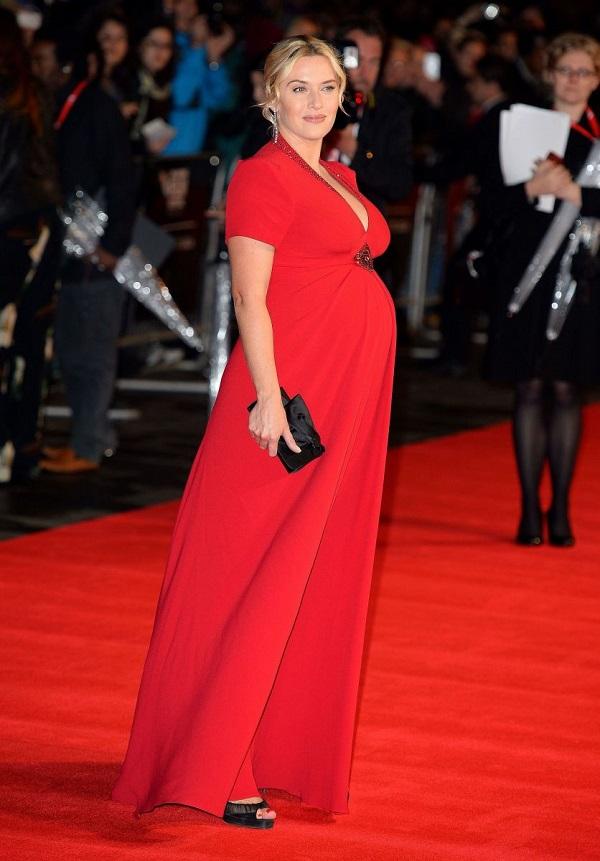 Celebrità incinte di Hollywood: incinta Kate Winslet