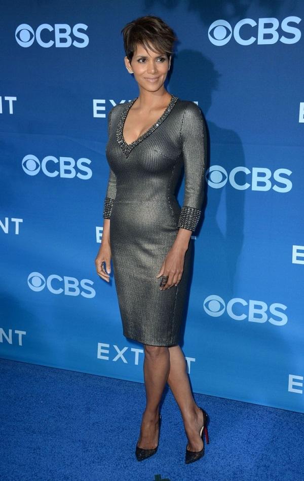 Stelle incinte: attrice incinta Halle Berry