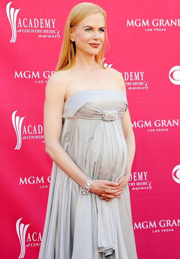 Le star di Hollywood in gravidanza: l'attrice incinta Nicole Kidman